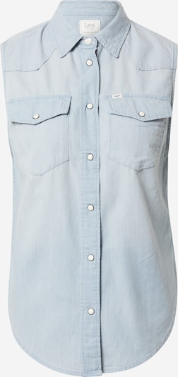 Lee Blusentop 'SLEEVELESS SHIRT' in blau, Produktansicht