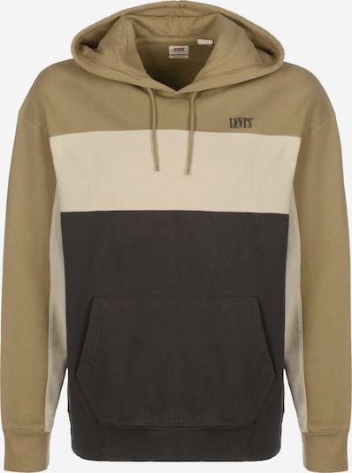 LEVI'S Sweatshirt 'Wavy Colorblock' in de kleur Lichtbruin / Donkerbruin, Productweergave