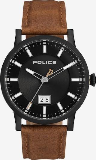 POLICE Uhr 'Collin, PL15404JSB.02A' in braun / schwarz, Produktansicht