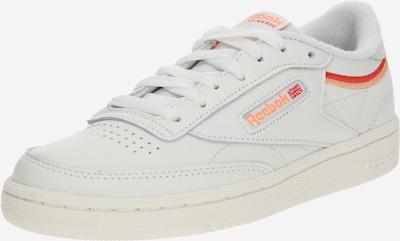 Reebok Classic Sneaker 'Club C 85' in orange / rot / weiß, Produktansicht