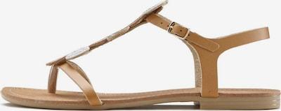 LASCANA Zehentrenner in camel, Produktansicht