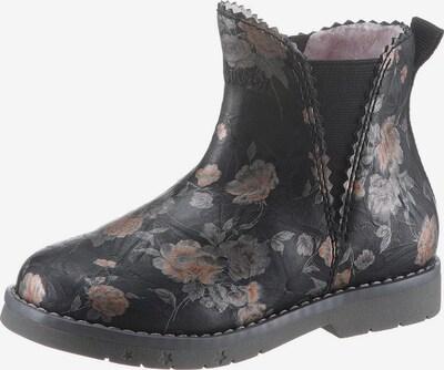 s.Oliver Ankle Boots in beige / schwarz, Produktansicht