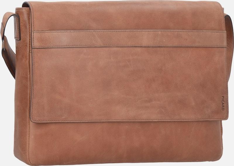 Picard Enzo Umhängetasche Leather 40 Cm Compartment