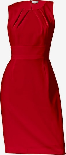 Trumpa kokteilinė suknelė iš heine , spalva - raudona, Prekių apžvalga