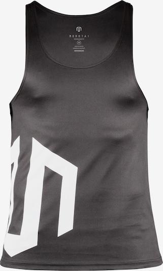 MOROTAI Sport-Top 'Brand Tank' in schwarz / weiß, Produktansicht