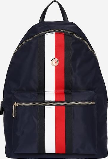 TOMMY HILFIGER Rucksack in dunkelblau / rot / weiß, Produktansicht