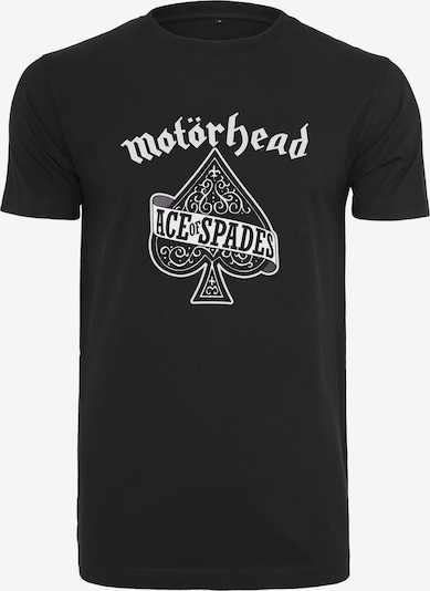 Mister Tee T-Shirt 'Motörhead Ace of Spades' in schwarz / weiß, Produktansicht