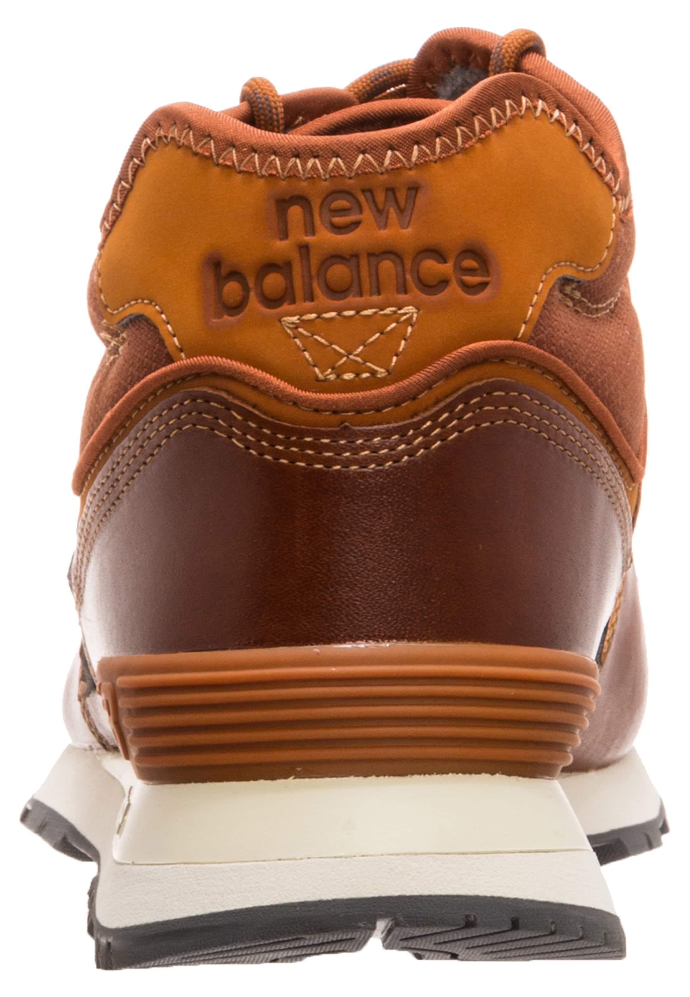 New MarronCognac Baskets Hautes Balance En UzqVpSM