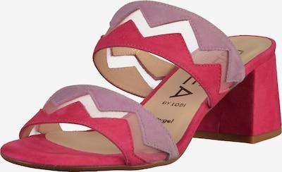 GADEA Pantoletten in helllila / pitaya: Frontalansicht