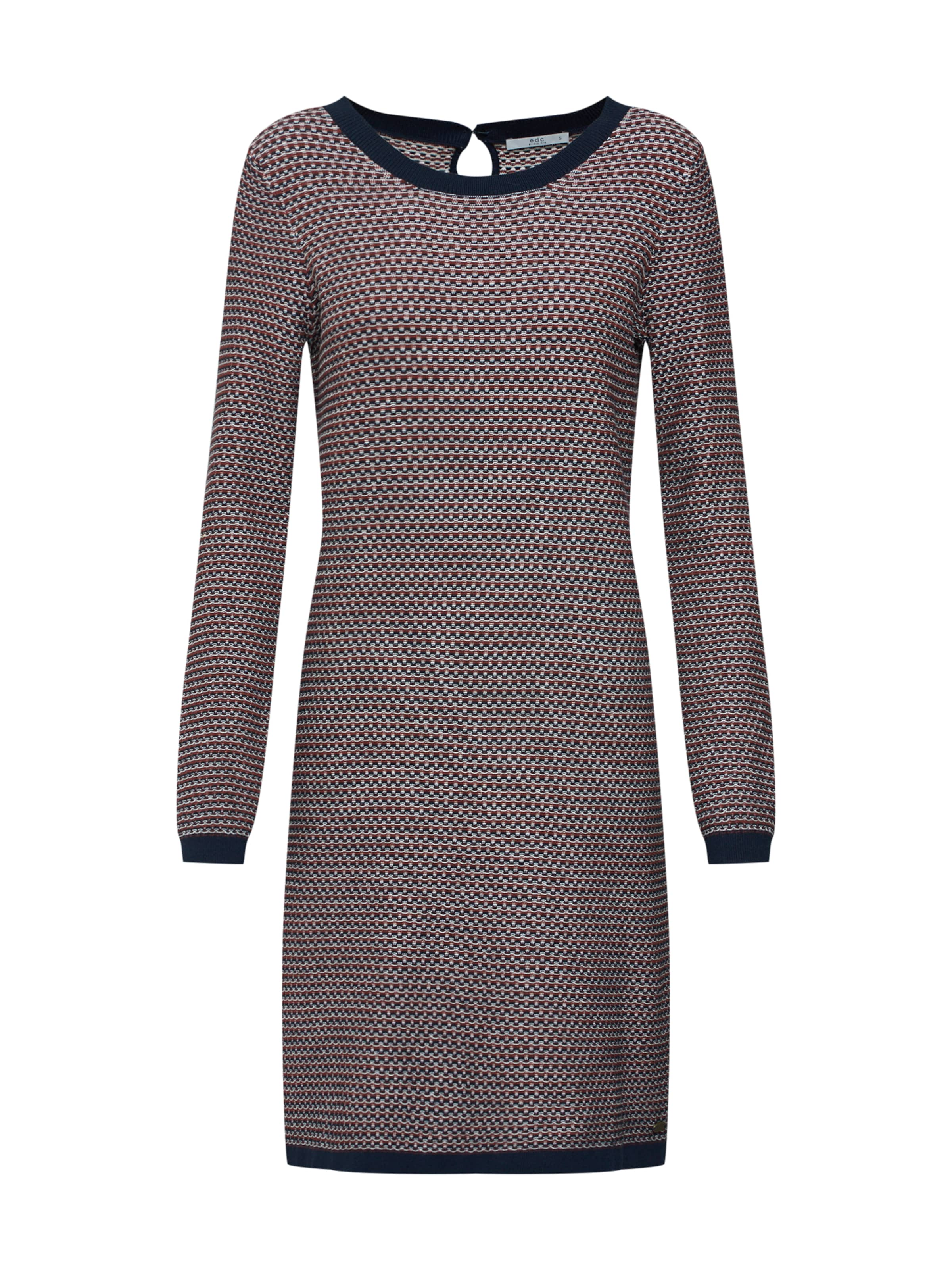 Flat By Dress Mischfarben In 'ocs Cot Knitted' Edc Esprit Dresses Kleid OPX0w8Nnk