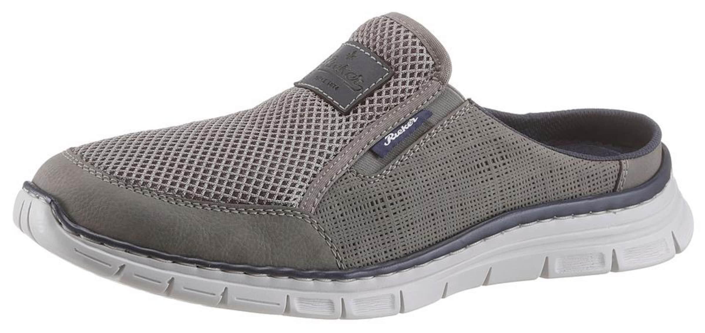 RIEKER Slipper Casual Verschleißfeste billige Schuhe