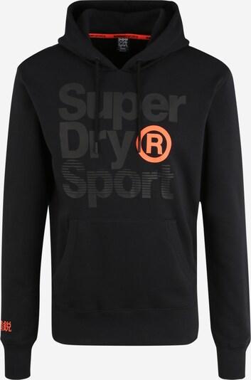 Superdry Sport-Sweatshirt 'CORE SPORT OVERHEAD' in schwarz: Frontalansicht