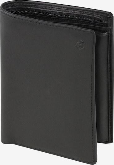 Esquire Portemonnee 'Logo' in de kleur Zwart, Productweergave