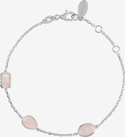 Latelita Armband in de kleur Rosa / Zilver, Productweergave