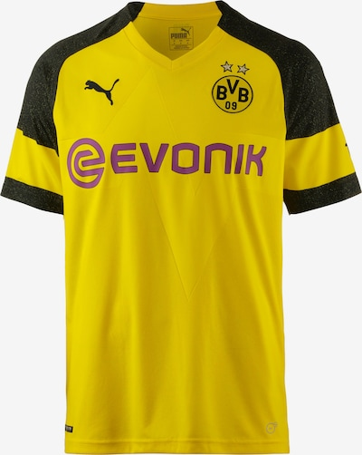 PUMA Tricot 'Borussia Dortmund 18/19 Heim' in de kleur Geel / Rood / Zwart, Productweergave