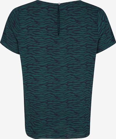 Marškinėliai 'CARLUXEVE SS TOP AOP' iš ONLY Carmakoma , spalva - nakties mėlyna / benzino spalva: Vaizdas iš galinės pusės