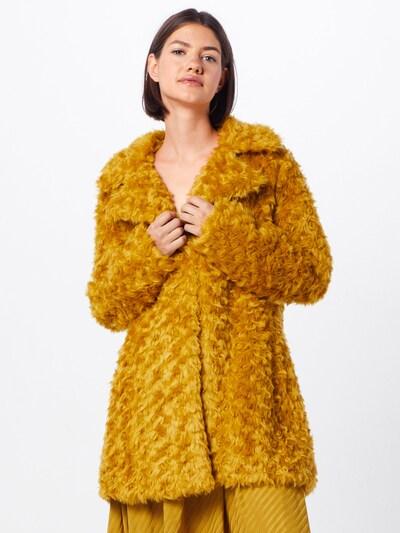 LIU JO JEANS Manteau d'hiver 'GIACCONE SINTETICO' en jaune foncé, Vue avec modèle