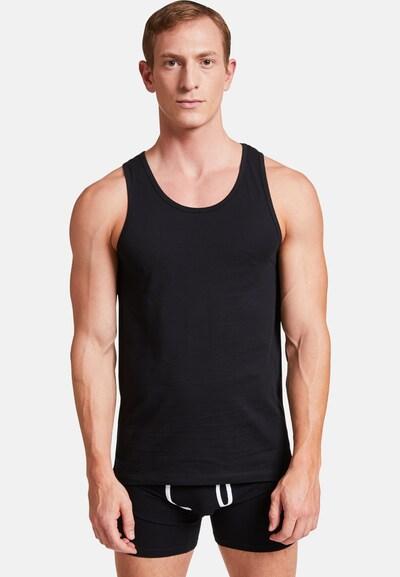VATTER 'Tough Tony' Tank Top in schwarz, Modelansicht