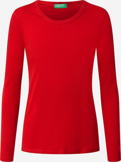 UNITED COLORS OF BENETTON Shirt in rot: Frontalansicht