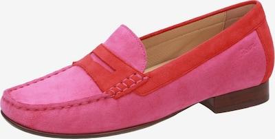 SIOUX Mokassin 'Corbina' in pink / hellrot, Produktansicht