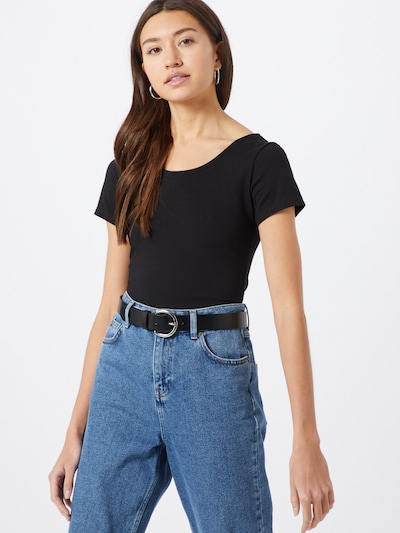 ABOUT YOU Shirt 'Ayana' in schwarz: Frontalansicht