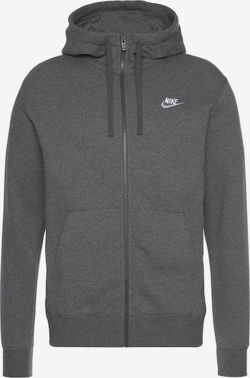 Nike Sportswear Sportiska jaka 'M NSW CLUB HOODIE FZ BB' antracīta, Preces skats