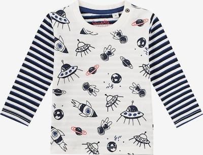 SANETTA Shirt in marine / pastellrot / offwhite, Produktansicht