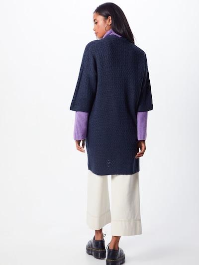 Geacă tricotată 'OLANDA CA2' ICHI pe albastru: Privire spate