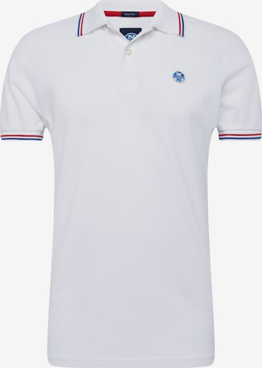 North Sails Polo-Shirt in weiß, Produktansicht