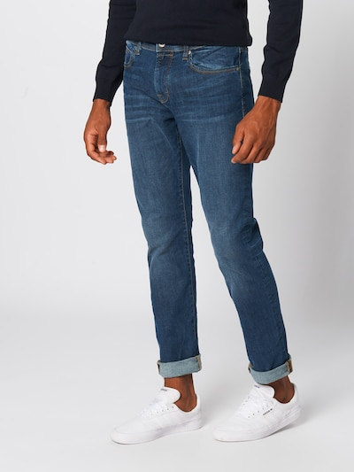 ESPRIT Jeans 'RCS Slim Dynami Pants' in blue denim, Modelansicht