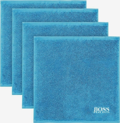 BOSS Home Handtuch in blau, Produktansicht