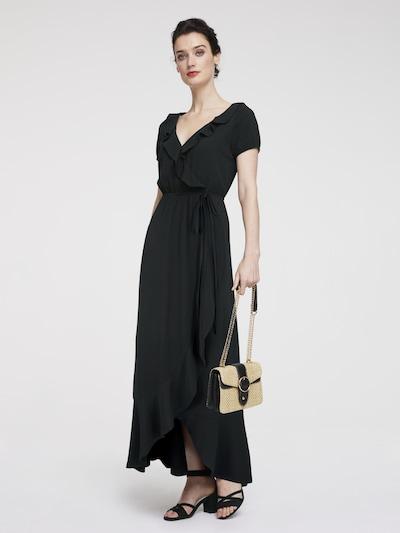 heine Avondjurk in de kleur Zwart, Modelweergave