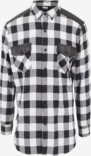 Urban Classics Skjorta i svart / vit, Produktvy