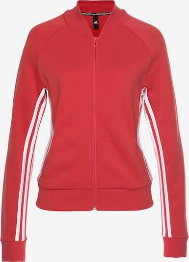 ADIDAS PERFORMANCE Sweatjacke in rot / weiß, Produktansicht