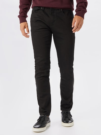 SELECTED HOMME Jeans 'LEON' in black denim, Modelansicht
