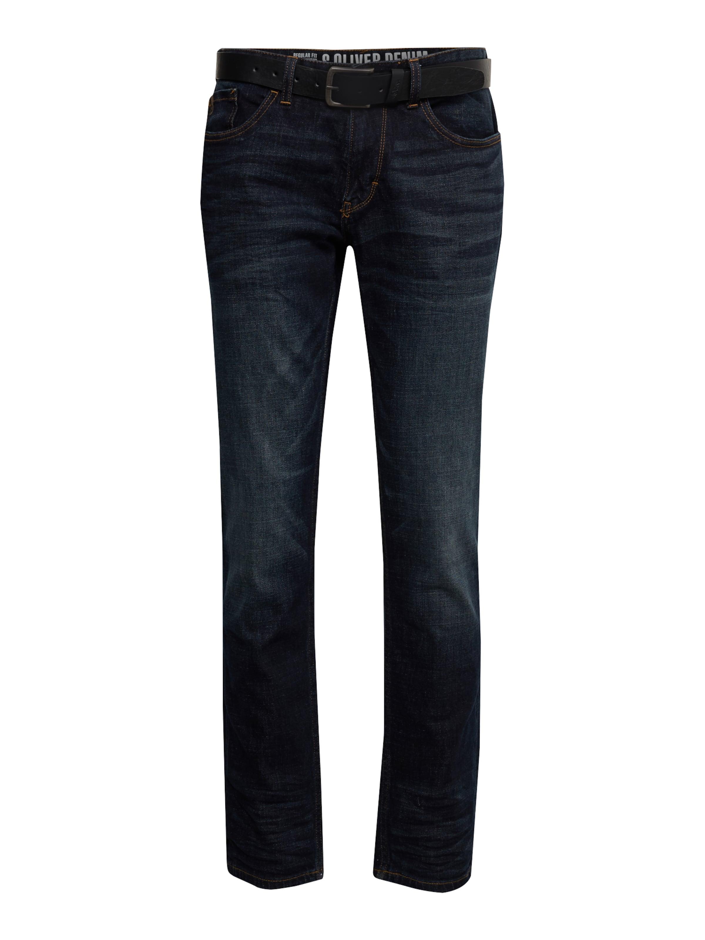 S In Red Dunkelblau Jeans Label oliver LqMVGSUzp