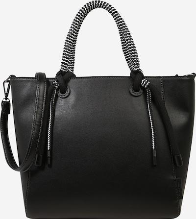 TOM TAILOR Shopper 'Malena' in schwarz, Produktansicht