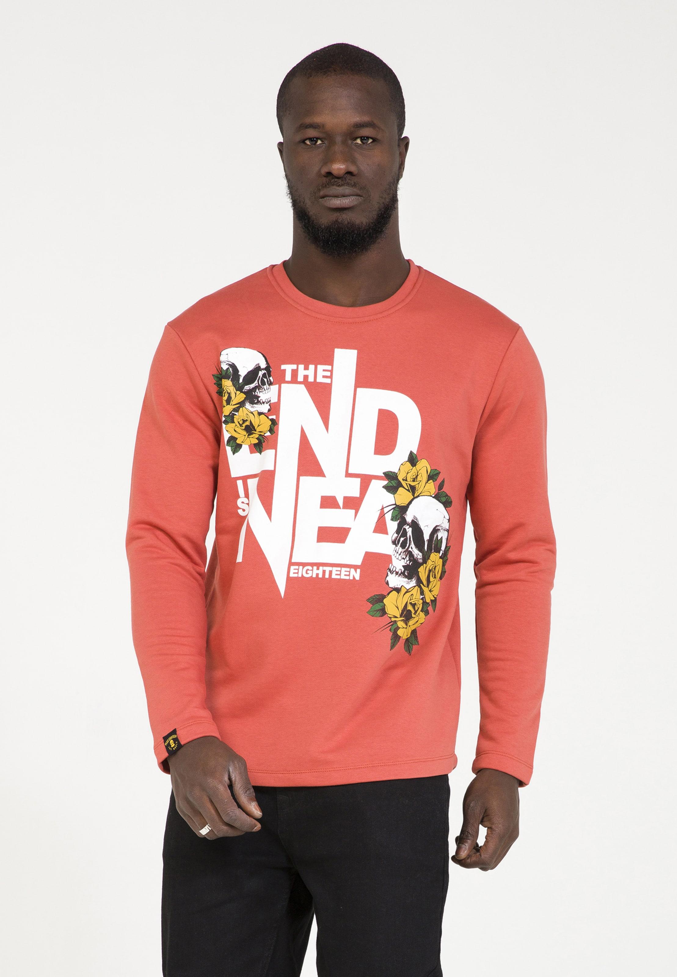 In Eighteen In Lachs Eighteen Sweatshirt Sweatshirt Plus Plus Eighteen Sweatshirt Plus Lachs 7gIvbf6ymY