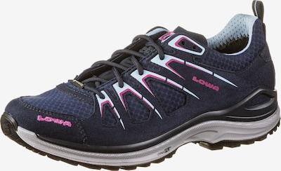 LOWA Schuhe 'Innox Evo Low GTX' in navy / hellblau / pink, Produktansicht
