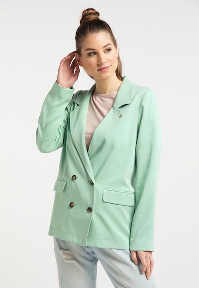 MYMO Blazer in mint, Modelansicht