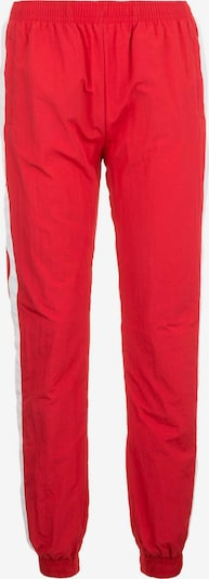 Urban Classics Hose in feuerrot / weiß, Produktansicht