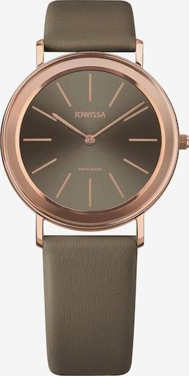 JOWISSA Quarzuhr 'Alto' Swiss Ladies Watch in braun / rosegold, Produktansicht