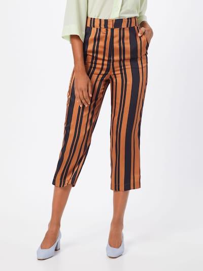 SOAKED IN LUXURY Pantalon 'Mollie' en marron / brun foncé: Vue de face