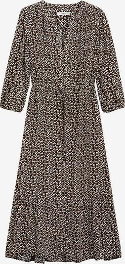 MANGO Kleid 'Apple' in braun / rosa / schwarz / weiß, Produktansicht