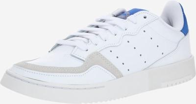 ADIDAS ORIGINALS Super Court Sportmode Sneakers Schuhe in blau / weiß, Produktansicht