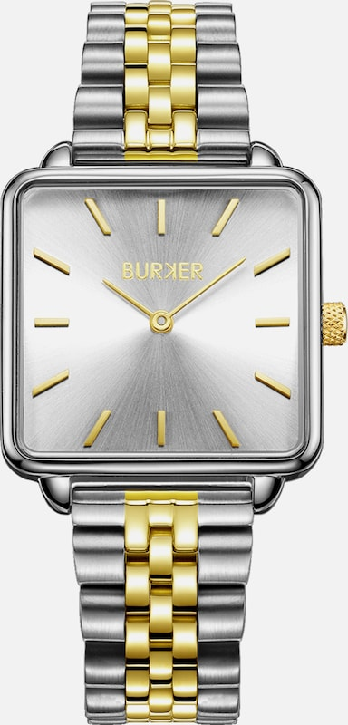 BURKER Watches Armbanduhr 'Chloe Gold Silver Limited Edition' in gold / silber, Produktansicht