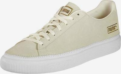 PUMA Sneaker 'Suede Trim' in beige / gold / weiß, Produktansicht