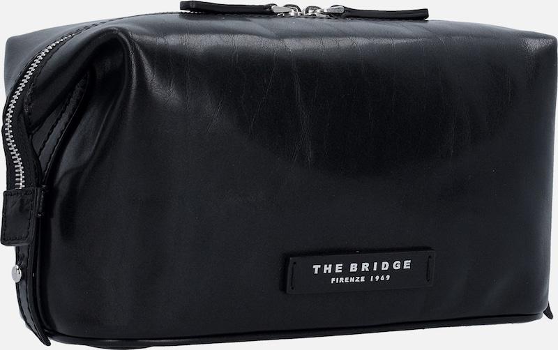 The Bridge 'Passpartout Uomo' Necessaire Kulturbeutel Leder 24 cm