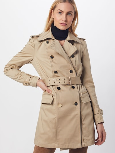 GUESS Trenchcoat in beige, Modelansicht