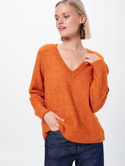 SELECTED FEMME Džemperis 'LANNA' pieejami oranžs: Priekšējais skats